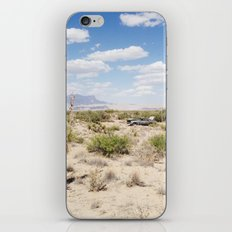 Salt Flat, Texas iPhone & iPod Skin