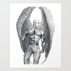 Donovan Angel Art Print