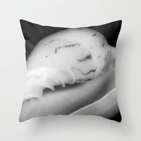 Shell 34 Throw Pillow