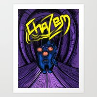 Chazem Art Print