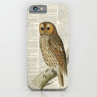 Woodland Owl On Branch iPhone 6 Slim Case