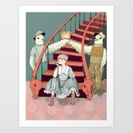 Art Print featuring Queenie by Leslie Tychsem