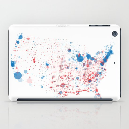 Election Mapping 2008 iPad Case