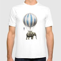 Jumbo Mens Fitted Tee White SMALL
