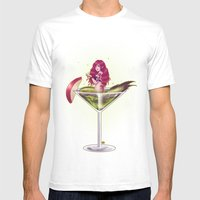 Poison Apple Martini Mens Fitted Tee White SMALL