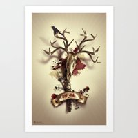 Blight, Alternate Versio… Art Print
