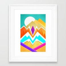 Desert Paradise Framed Art Print