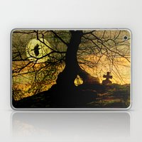 A mysterious place Laptop & iPad Skin