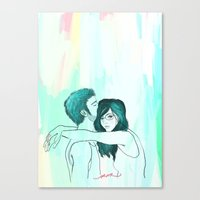 my room of happiness Canvas Print