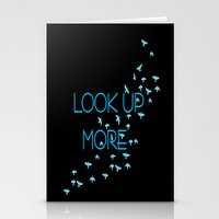 LOOK UP MORE Stationery Cards