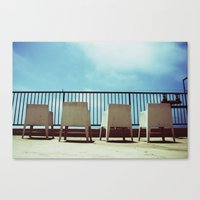 Chairs Canvas Print