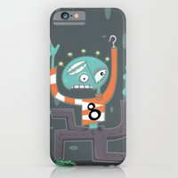 iPhone & iPod Case featuring Crazy Alien by Jaina Hill-Rodriguez