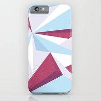 Maroon & Sky  iPhone 6 Slim Case