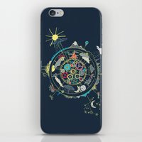 Running Like Clockworld iPhone & iPod Skin