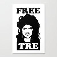 FREE TRE Canvas Print