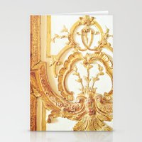 Gold Trimmings Stationery Cards