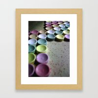 OCD Framed Art Print