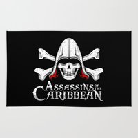 Assassins of the Caribbean Rug
