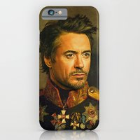 iPhone & iPod Case featuring Robert Downey Jr. - replaceface by replaceface