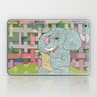 Elephant Reading Laptop & iPad Skin