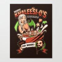 Hearty Khaleesio's Canvas Print