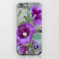 iPhone & iPod Case featuring Hollyhock by Mary Kilbreath