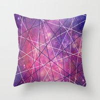 Fly Up to the Heavens (color) Throw Pillow