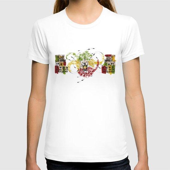 Reggae Lion Speakers T-shirt
