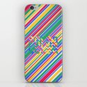 Color Stripes iPhone & iPod Skin
