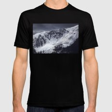 Avalanche SMALL Mens Fitted Tee Black