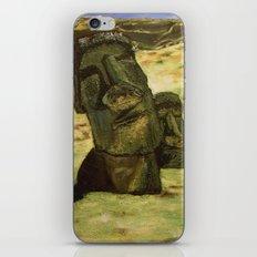 Moai iPhone & iPod Skin
