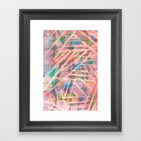 Batik Framed Art Print