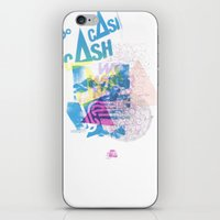 Cash Silk 001 iPhone & iPod Skin