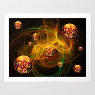 Chaos Creating Universe … Art Print