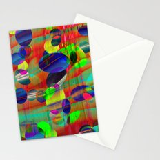 Dots and Curves Stationery Cards