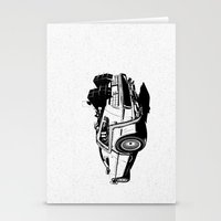 DeLorean / BW Stationery Cards