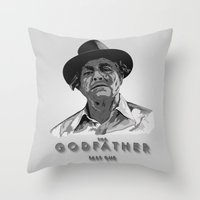 The Godfather - Part One Throw Pillow