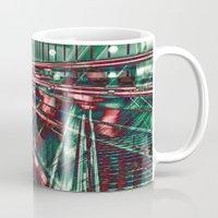 Abstract City Lines Mug