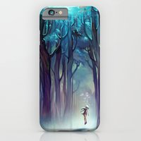 iPhone & iPod Case featuring AquaForest by loish