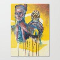 The Melting Doge Canvas Print