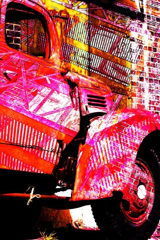 truckscape Art Print