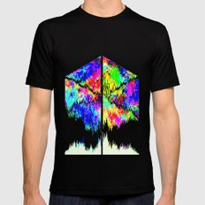Calamity Inverted SMALL Black Mens Fitted Tee