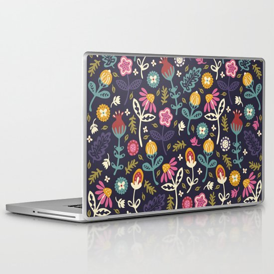 Ditsy Flowers Laptop & iPad Skin