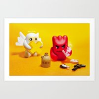 Wee Devil Art Print