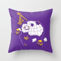 Memory Site Throw Pillow