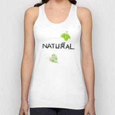 Natural Unisex Tank Top