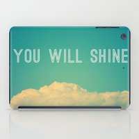 Baby, you will shine! iPad Case