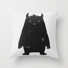 Mr. Cosmos Throw Pillow