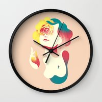 Summer Wall Clock