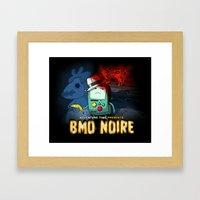 Adventure Time: BMO Noir… Framed Art Print